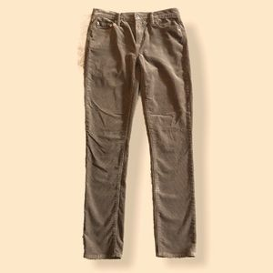 The Gap Real Straight 1969 Corduroy Pant Olive 27R